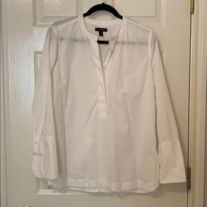White Popover blouse